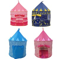 Children's Indoor Tent Dollhouse Prince Princess Umbrella Castle Tent Child Ocean Ball toy pool Game crawling house