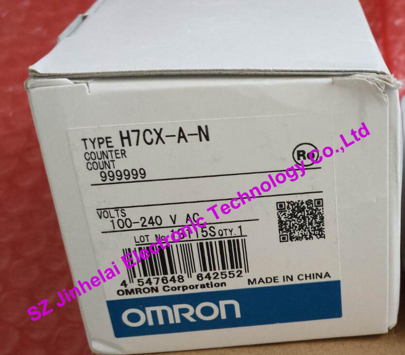 H7CX-A-N  New and original  OMRON  100-240VAC omron h7cx a114s n 100 240v ac