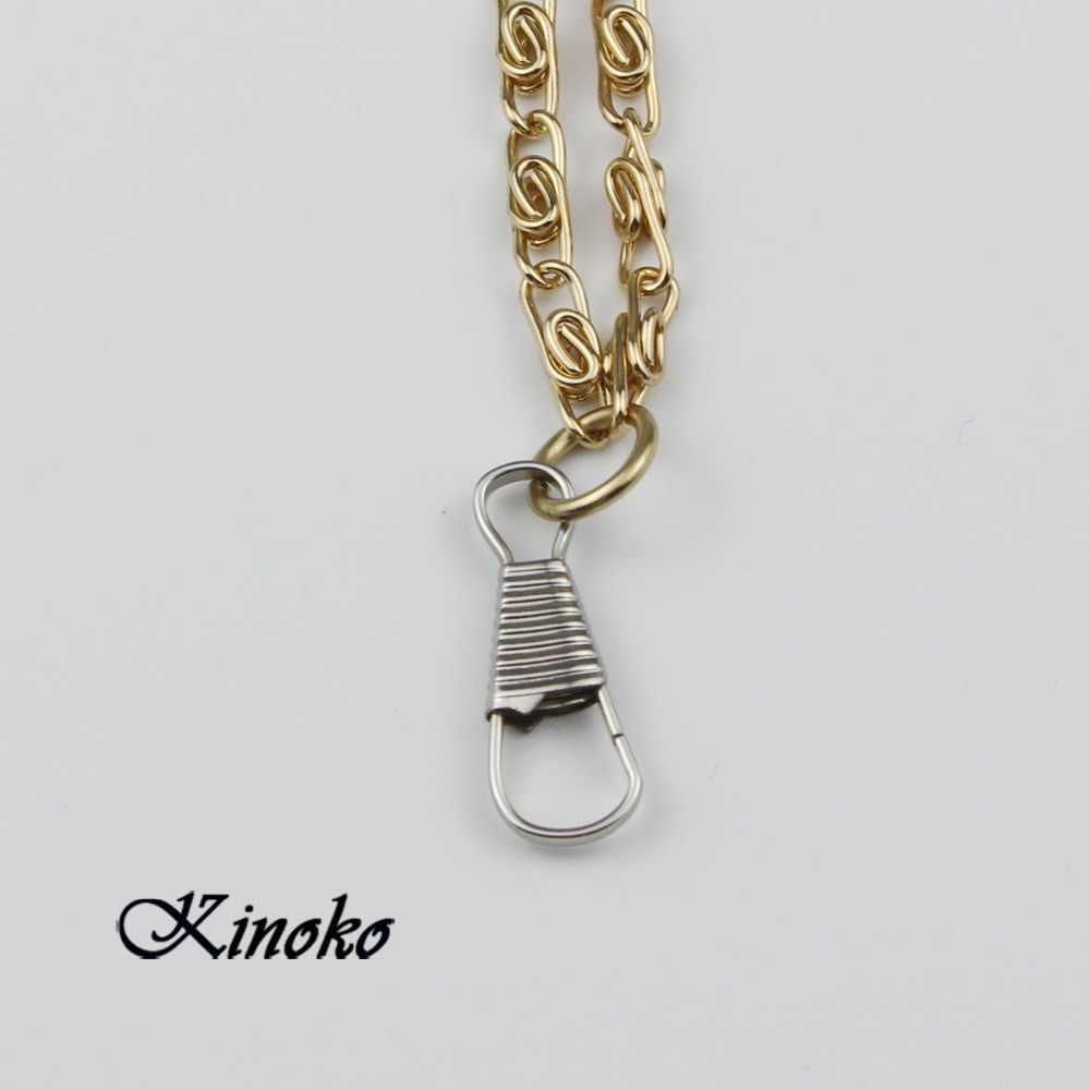 "Frete grátis 1000 unidades/pacote 1 "" ( 25 mm ) Zipper Pull pressão primavera gancho de metal Keychain # ME003"