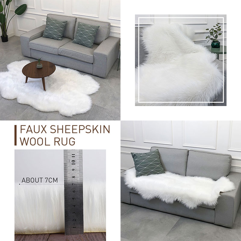 Wool Wool Carpet Fluffy Living Room Fluffy Rugs for Carpet Floor Sofa Bedroom for Chair Decoration Mat Dining RoomWool Wool Carpet Fluffy Living Room Fluffy Rugs for Carpet Floor Sofa Bedroom for Chair Decoration Mat Dining Room
