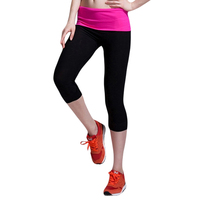 2017 New Women Calf-Length Pants Casual Fitness Jogger Pants Elasticity Skinny Legging