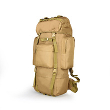 New Sales Tactical Molle Backpack Capacity of 65L 600D Encrypt Oxford Waterproof Fabric for Hunting Climbing