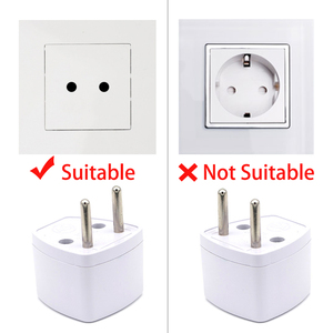 Image 5 - New Arrival 1 PC Universal UK US AU to EU AC Power Socket Plug Travel Electrical Charger Adapter Converter Japan China American