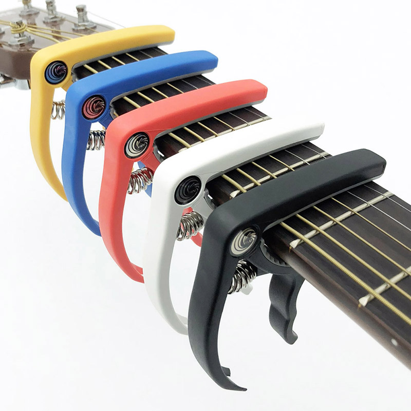 Best Capo For Acoustic Classical Electric Guitar Change Tuning Clamp Key Plastic Guitar Capo Musical Instruments Accessories