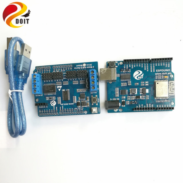 DOIT Robot Arm Controller Kit Development Board Compatible with ...