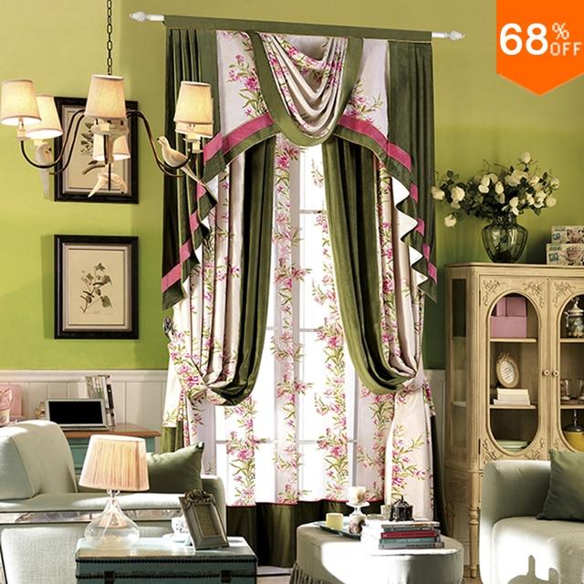 de hoge priestess luxe pontiff groene gordijnen classic woonkamers slaapkamer gordijn de oude koninklijke eetkamer gordijn