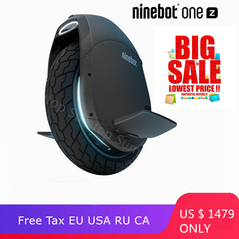 Original Ninebot One Z10 Z6 auto équilibrage Scooter électrique 45 km/h Support Bluetooth APP pliable monocycle moteur Hoverboard EUC