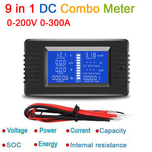 Image 2 - DYKB DC Combo Meter Battery Monitor Voltage Current Power Capacity Internal resistance/SOC/time / impedance Tester volt amp