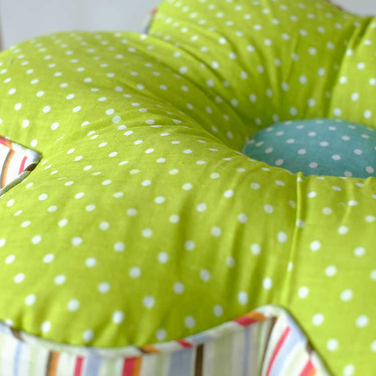 Coussin de siège en forme de fleur | Décoration de maison, coussin de dos de canapé pour soutien de la taille, coussin de siège épais, tapis de Tatami, cadeau pour enfants