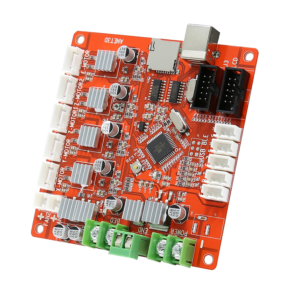 Anet V1.0 3D Printer Controller Board Ramps1.4 Update Version Motherboard For Anet A8 3D Printer