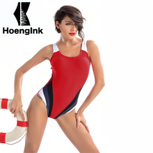 2017 BRANDMAN Red, White and Blue Combination of Sports Style Swimsuit, High-quality Fabric Breathable Size S to 2XL 7006
