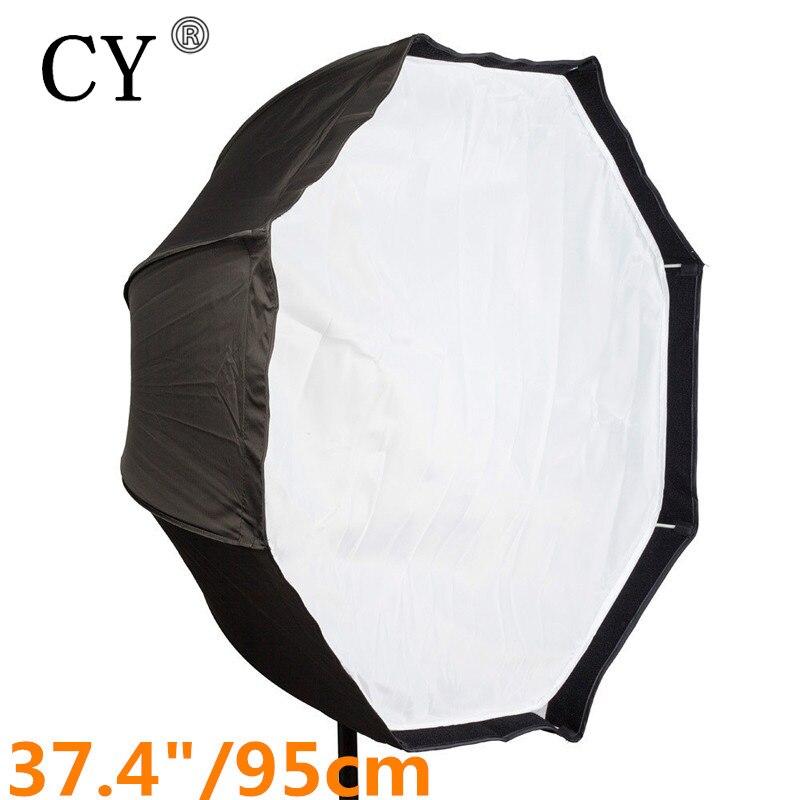 Photo Studio 95cm Octagon Umbrella Softbox Diffuser Reflector for Speedlite Flash Soft Box Photography Accesorios Light Box