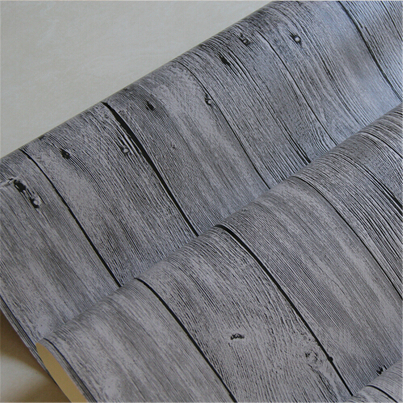 Beibehang Style chinois Vintage papier peint papel de parede 3d Pvc papier peint bois texturé papier peint rouleau literie chambre décoration de la maison