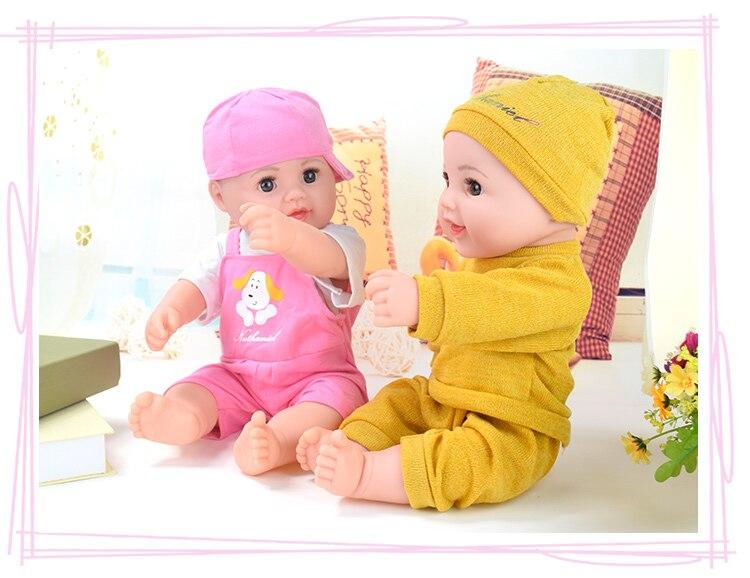 Big!18.9 inch fashion Doll lol silicone real reborn boneca Baby vinly lifelike Toys girls Dress doll Gifts Birthday NATHNIEL