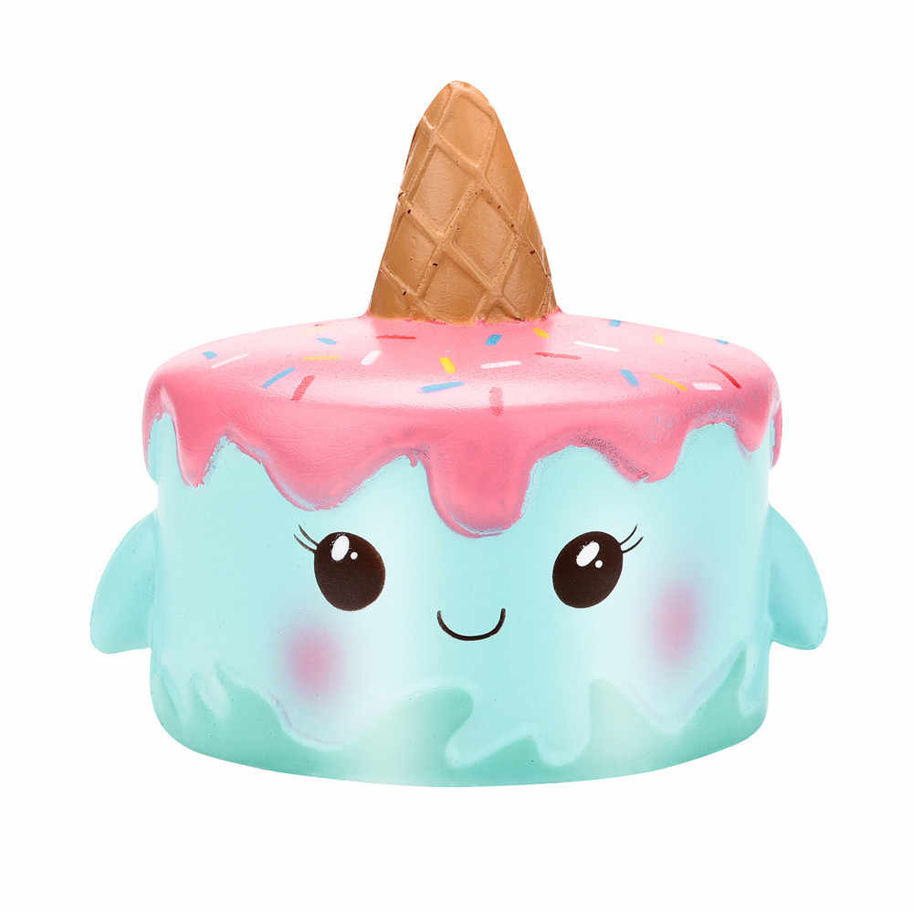 Lovely Toy Funny Squishies Kawaii Jumbo Cartoon Cake Slow Rising Cream Scented Stress Reliever Toys poopsie surprise unicorn