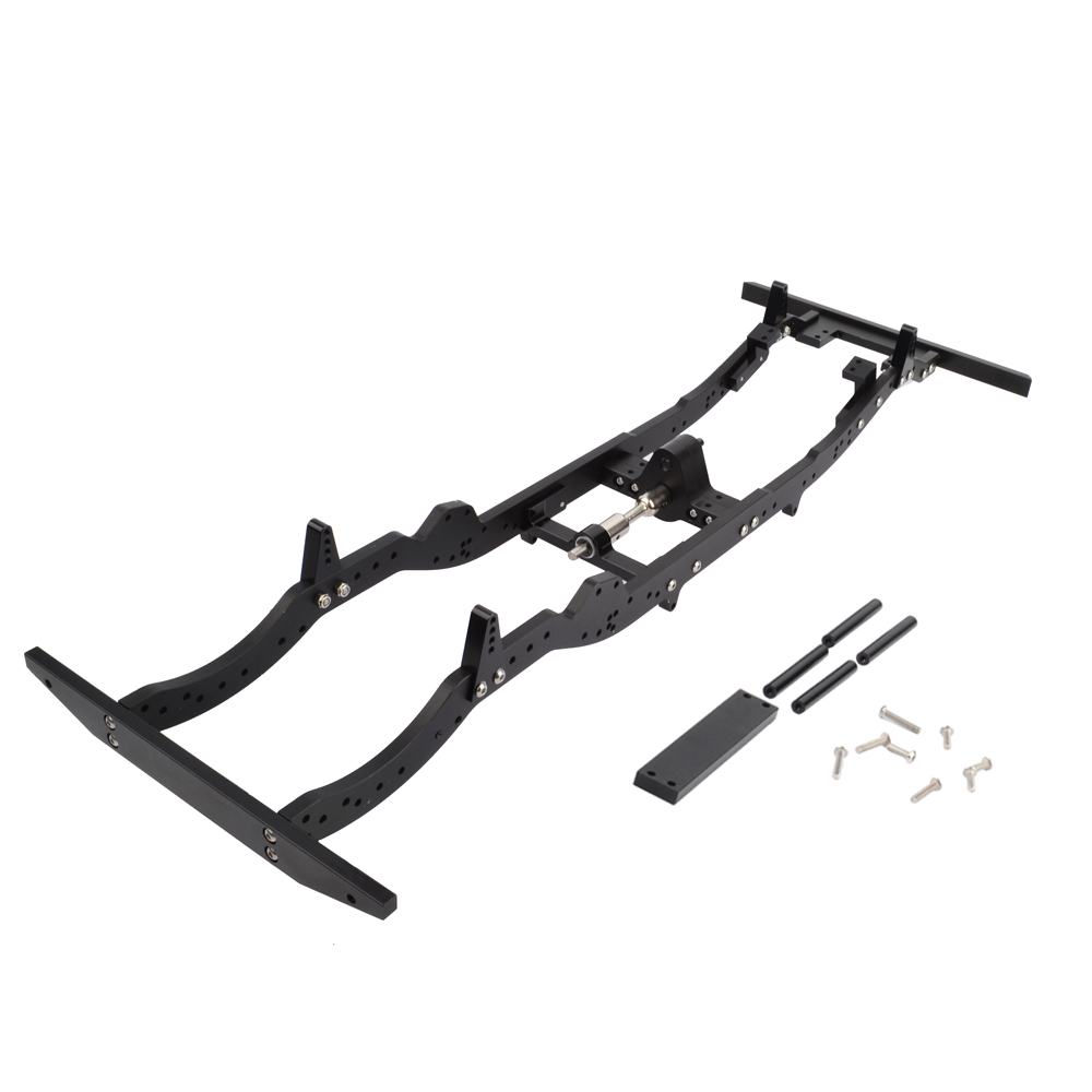 RC Aluminium alloy Chassis 313MM Wheelbase for Axial SCX10 D110 1/10 RC Crawler Car-in Parts & Accessories from Toys & Hobbies    1