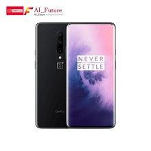 Глобальный ПЗУ оригинальный Oneplus 7 PRO 6 ГБ 128 Гб Смартфон Snapdragon 855 NFC 6,67 дюймов жидкий AMOLED дисплей отпечатков пальцев UFS 3,0