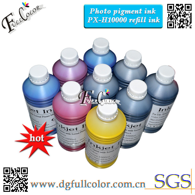 ФОТО Top Quality Bulk inks For Inkjet Printer PX-H10000 Pigment Ink Compatible Japan printing market IC58 11colors Ink