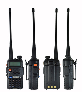 Image 3 - 2 adet 8W Baofeng UV 5R radyo seti Walkie Talkie UV 5R UV5R iki yönlü radyo istasyonu verici USB dişi yumuşak anten 771