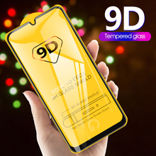9D Curved Tempered Glass on the For Samsung Galaxy A30 A50 A10 Screen P