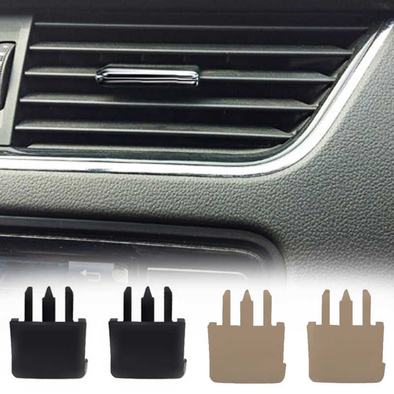 2pcs/4 pcs for Toyota Corolla Sagitar car air conditioning vent car center Dash A/C vent Luofu blade air conditioning leaf clip