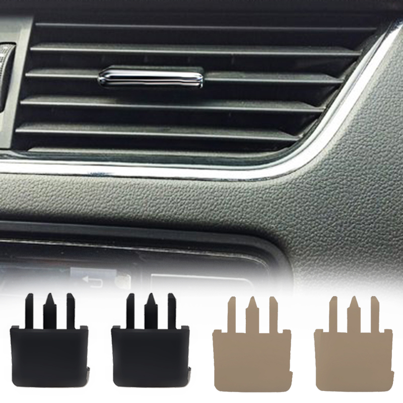 2pcs/4 pcs for <font><b>Toyota</b></font> <font><b>Corolla</b></font> Sagitar car air conditioning vent car center Dash A/C vent Luofu blade air conditioning leaf clip image