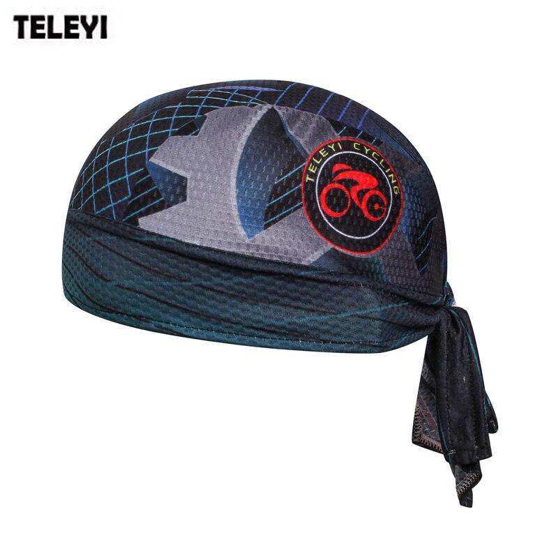 TELEYI Cycling Headbands Men Bike Bicycle Cycling cap Bandana Hat Breathable Sweat Helmet hat Pirate Head Scarf Headband