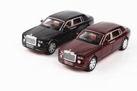 1 24 Car Model Rolls Royce Phantom Lengthened Cohes Diecast Alloy Sixdoor Model Light Models High