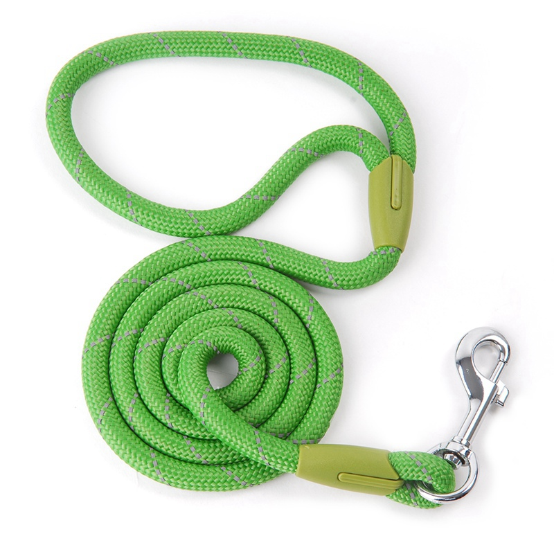 Dog Leashes For Small Large Dogs Leash Pet Products Reflective Dog-Leash Rope Dogs Lead Cat Collar Harness Nylon Running Leashes (8)