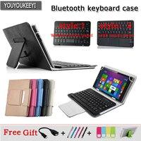 Caso di Tastiera Bluetooth universale Per Cube power M3, Cassa della Tastiera senza fili di Bluetooth Per Il Cubo i7k tablet da 10.1 pollici