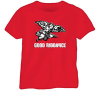 Good Riddance Punk Rock Retro T Shirt Comfortable t shirt,Casual Short Sleeve TEE
