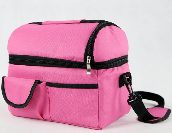 NEW Multifunctional Storage Package Ultralight Picnic Travel Camping Lunch Bag Insulated <font><b>Cooler</b></font> Bag Ice Bag lunch Box Cool Bag