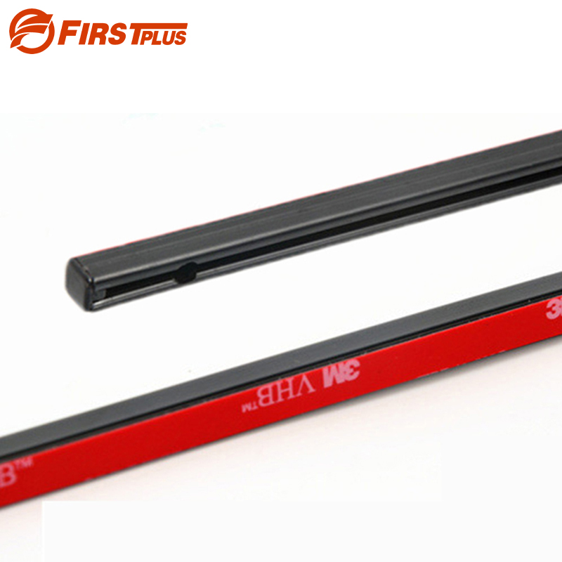 50cm 70cm Aluminum Plastic Rails For Car Window Curtians  (No Curtains)