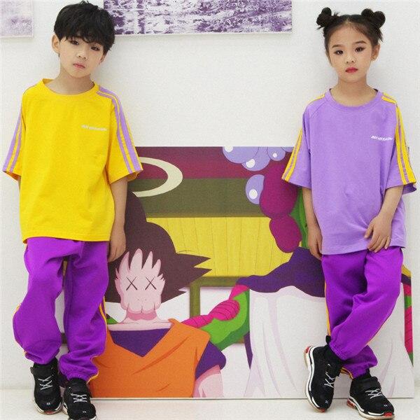 a26167efb60e Children s Day Street Dance Costume Summer Boy New Short Sleeve ...