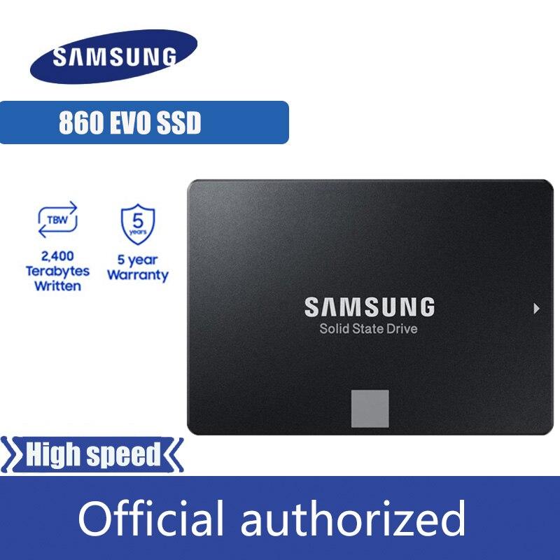 SAMSUNG SSD 860 EVO 250GB 500GB 1TB Internal Solid State Disk SATA3 2 5 HD Hard