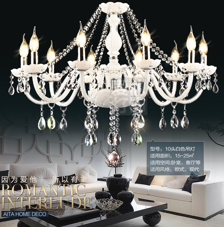 DX Luxtre White Crystal Chandeliers High Quality K9 Crystal Chandelier Lustres Home Decoration Chandelier Lighting утюг braun texstyle ts765a