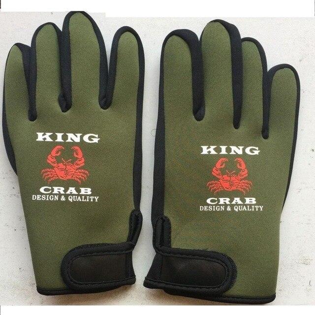 neoprene Slip-resistant finger waterproof full gloves insulation breathable fly winter fishing men lure barracas pesca fishhooks