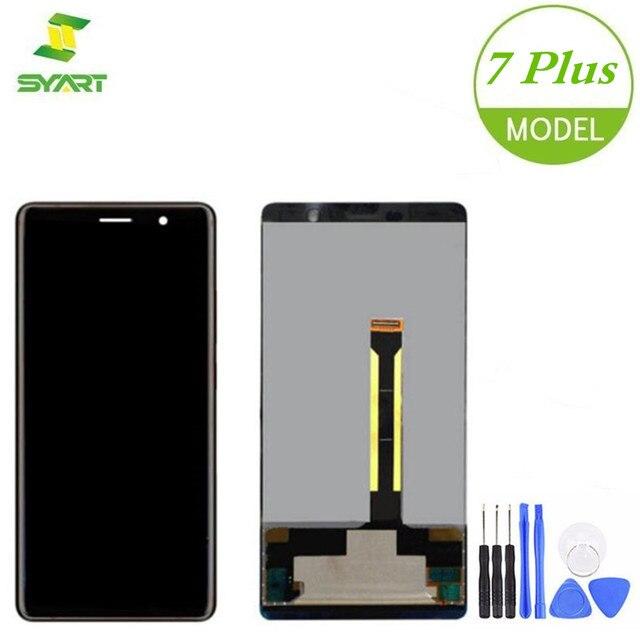 """עבור נוקיה 7 בתוספת LCD תצוגת מסך מגע Digitizer עצרת החלפה עבור Nokia 7 בתוספת N7Plus TA-1046 TA -1055 TA-1062 6.0 """"LCD"""