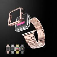3 In 1 Protect Case Ultrathin Platinum 18K Yellow Gold Rose Gold Plated 42mm 38mm Protective