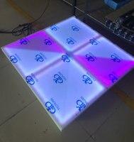 Раша Горячая 1 м * 1 м 432 светодиоды F5mm rgb полный Цвет dmx512 привело танцпол Для Свадебная вечеринка караоке DJ ночной клуб enertainment Дисплей