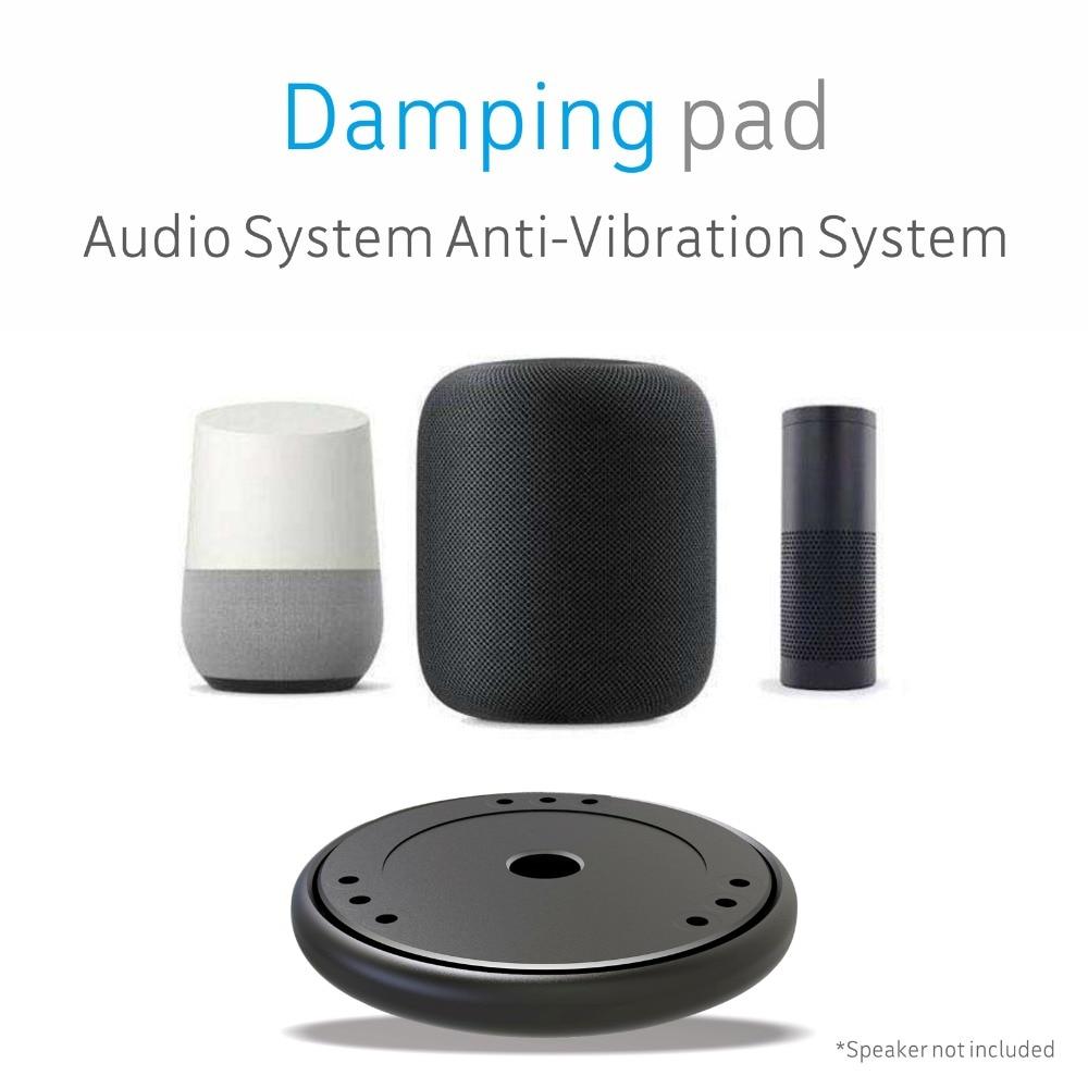Isolamento acustico Piattaforma Smorzamento Stabilizzatore Rinculo Base per Apple HomePod Amazon Echo Google Altoparlante Riser Piattaforma Casa intelligente