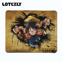 Slae fond manga one piece luffy Anime Mouse Pad Computer office Desktop Mouse Mat Anti-slip Rubber Mouse Pad Game Player Pads