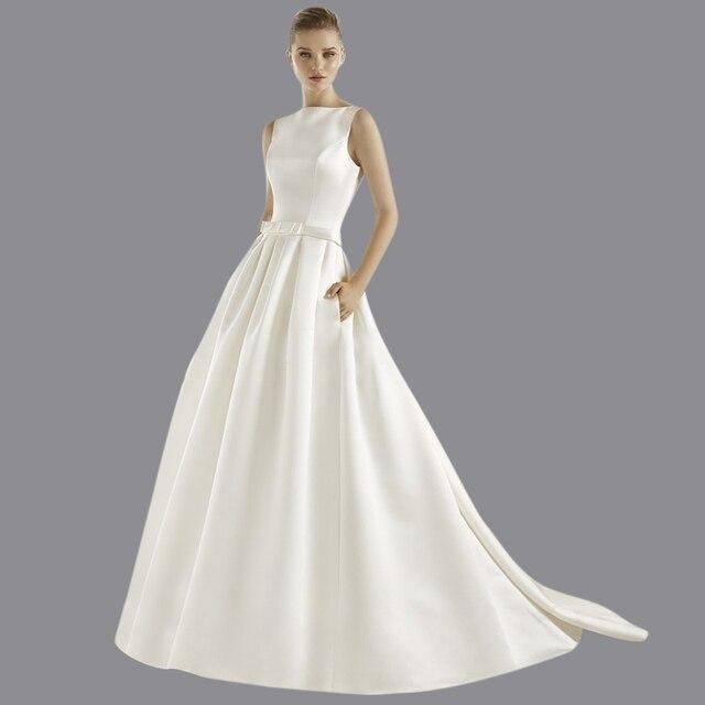 Viman der Braut 2015 Heißer Verkauf Satin Ballkleid Vestido De Noiva ...