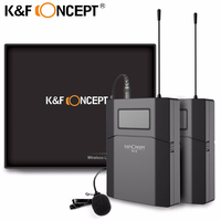 K F CONCEPT Microphone M 8 Wireless Lavalier Photographic And Recording Microphone With Low Noise And