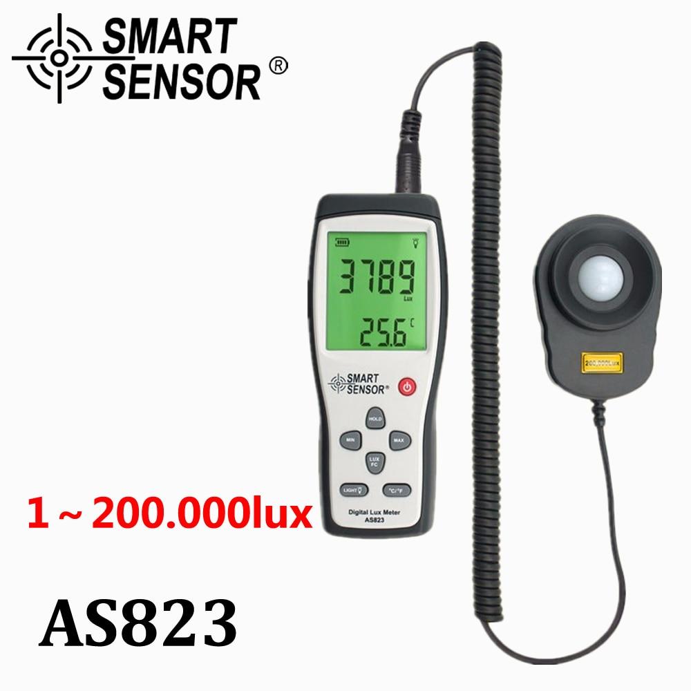 デジタル照度計デジタルルクスメーター光度計照度計分光器分光光度計高精度光メーター 200 、 000lux  グループ上の ツール からの 分光計 の中 1
