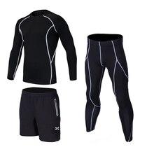 2018 Kids boys compression basketball shorts soccer training leg sports tights leggings running sets breathable quick dry 3pcs