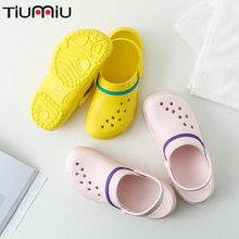 Doctor Shoes Summer Nurse Hole Wearable Anti-slip Sandals Slippers Professional Surgical Medical Zapatos Blancos Enfermera Mujer цена 2017
