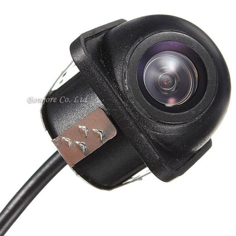 Двухъядерный Процессор автомобиль видео парковка Сенсор 8 радарами парктроник с камера заднего вида фронтальная камера автомобиля детекто...