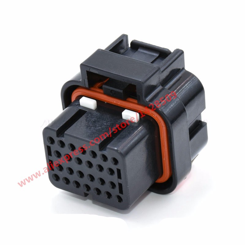 5 Sets 26 Pin AMP Tyco 1 0mm Series ECU Automotive Connector 3 1437290 7 Electrical