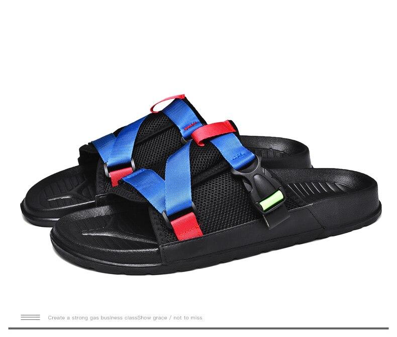 Collocation-Online slides-sandals Microfiber Ankle Strap med Women Shoes Strange Style Leisure Stripe Large Women Shoes,Goldeng,6